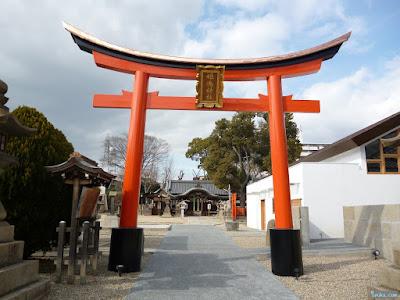 姫嶋神社鳥居