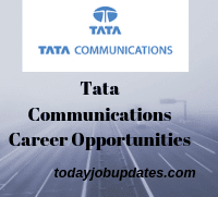 Tata Communications Career Opportunities