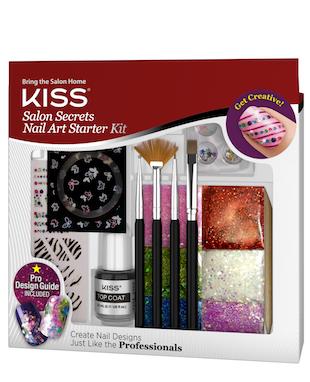 New From Kiss Nail Products Gel Fantasy Nails Amp Salon Secrets Nail Art Starter Kit My Spiced