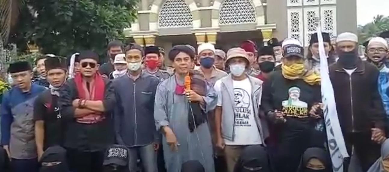 Umat Islam Tasikmalaya Minta Habib Rizieq Dibebaskan Sebelum Ramadhan