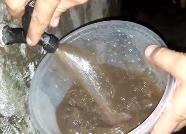 Água marrom nas torneiras preocupa moradores de Espírito Santo, RN: 'Parece lama'