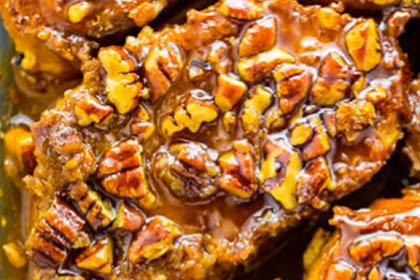 Overnight Pecan Pie French Toast