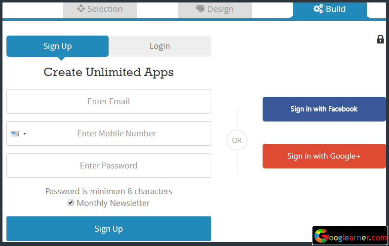 Create Free App For Windows Smartphone and Tablets