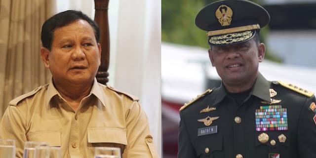 Menurut Anda Seberapa Besar Keuntungan Prabowo Jika Pilih Gatot Jadi Cawapres