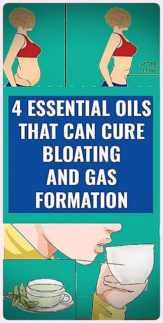 Gases And Bloating Will Disappear With The Help Of These 4 Essential Oils!