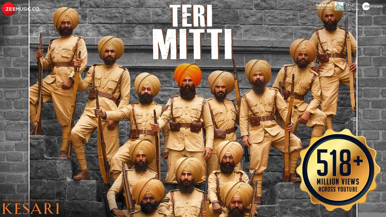 Teri Mitti Lyrics in Hindi