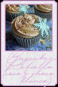 http://cukyscookies.blogspot.com.es/2014/12/cupcakes-raffaello-cupcakes-frozen-chocolate-blanco-coco-almendra.html
