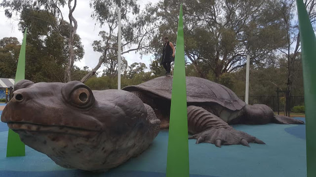BIG Turtle | Bibra Lake Regional Playground