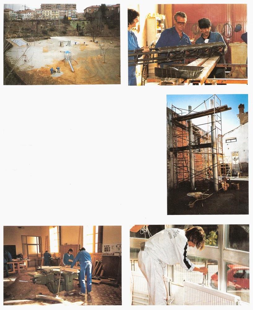 Turoliense escuela taller de teruel 1990 for Taller de cocina teruel