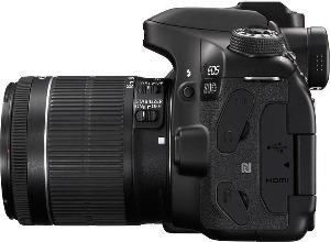 Canon spiegelreflexcamera met lens