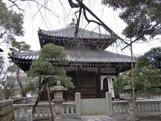本覚寺分骨堂