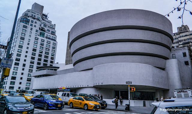 Fachada do Museu Guggenheim, Nova York