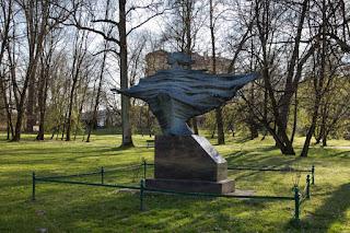 Chopin Chromego w Parku Decjusza w Krakowie