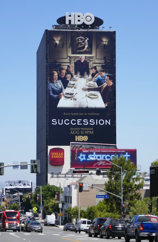 Giant Succession season 2 billboard