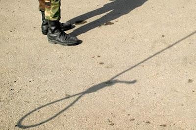 Public execution in Iran