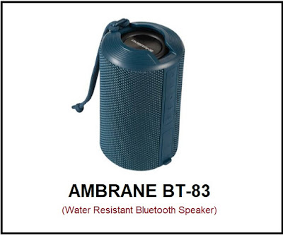Ambrane BT-83 portable Bluetooth Speaker