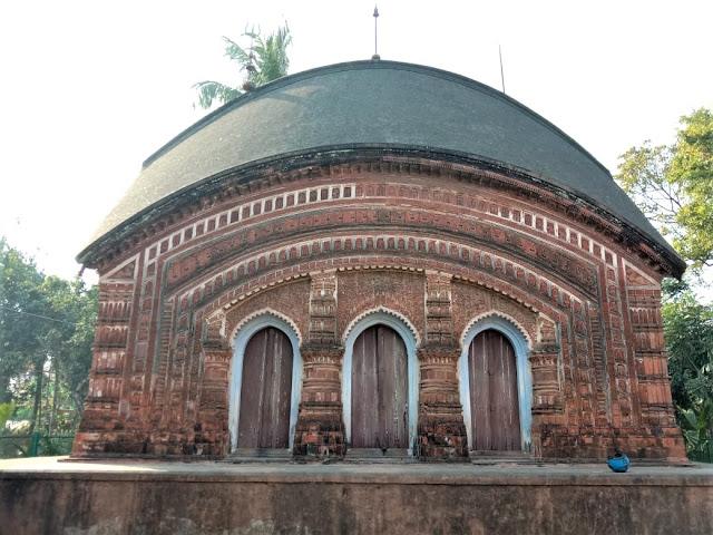 Char Bangla Temples of Murshidabad, West Bengal