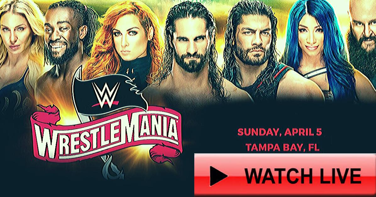 Wrestlemania Live Stream