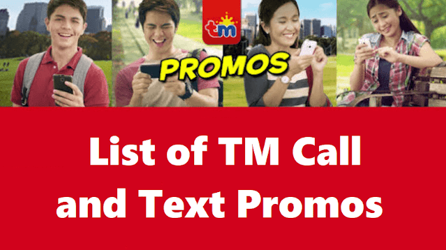 TM Call and Text Promos