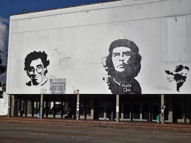 左翼活動家ハイメ・ガルソンとチェ・ゲバラ