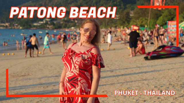 Patong Beach em Phuket, Tailândia