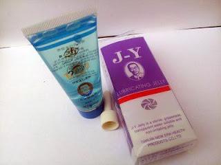 Reaksi obat perangsang untuk wanita lubricating jelly