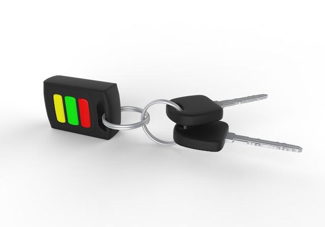 Car Key Set 3D Model Free Download,Obj,Maya,Low Poly