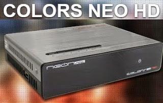 NEONSAT COLORS NEO HD NOVA ATUALIZAÇÃO V C102 - 14/06/2020