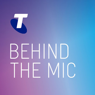 Telstra Enterprise - Behind the Mic