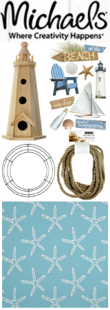 Coastal Craft and DIY Supplies at Michaels