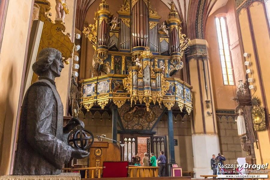 Katedra we Fromborku - Mikołaj Kopernik