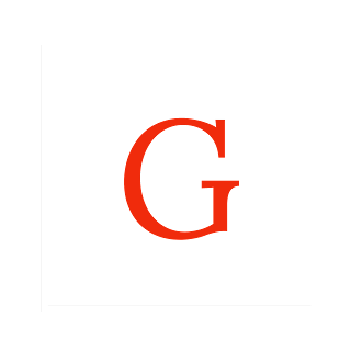 "Logo for greetings.live  White colour Square Box out line inner transperent.  Inside transperent white box Capital ""G""  which refers to greetings.   Out line box represents screen or . Live"