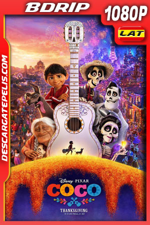 Coco (2017) 1080p BDrip Latino – Ingles