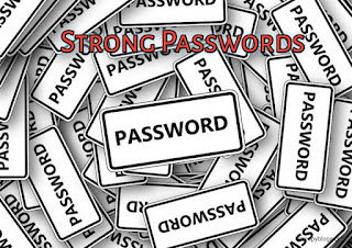 Use Strong and long passwords