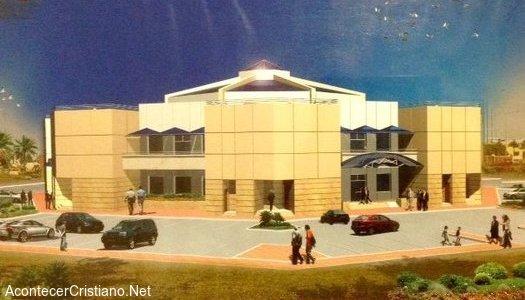 Proyecto construcción de iglesia evangélica en Qatar