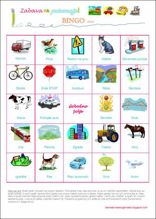 Igrice za decu - Bingo - mix