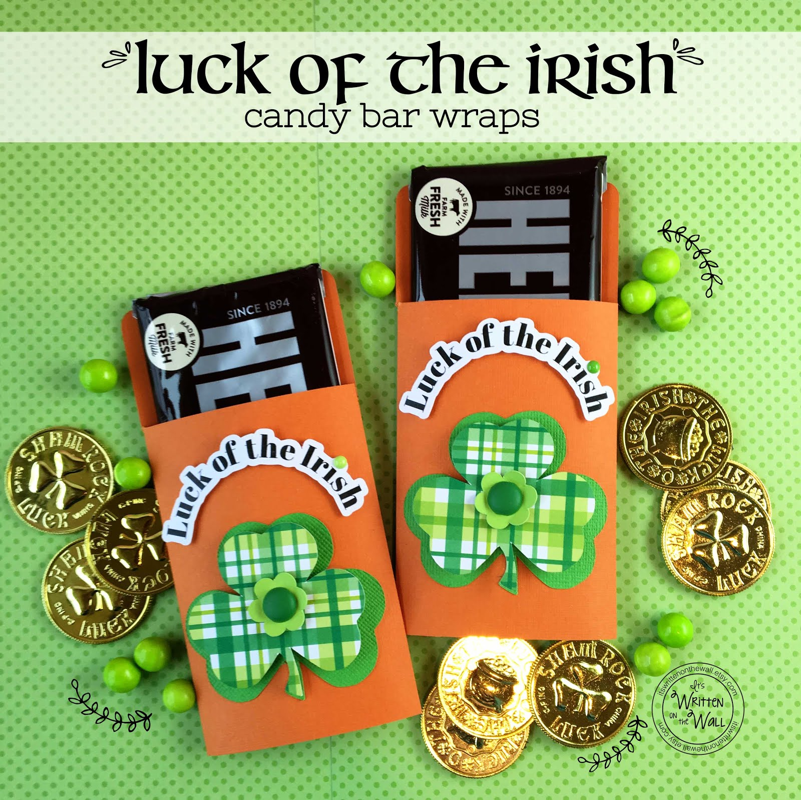 Luck of the Irish Candy Card