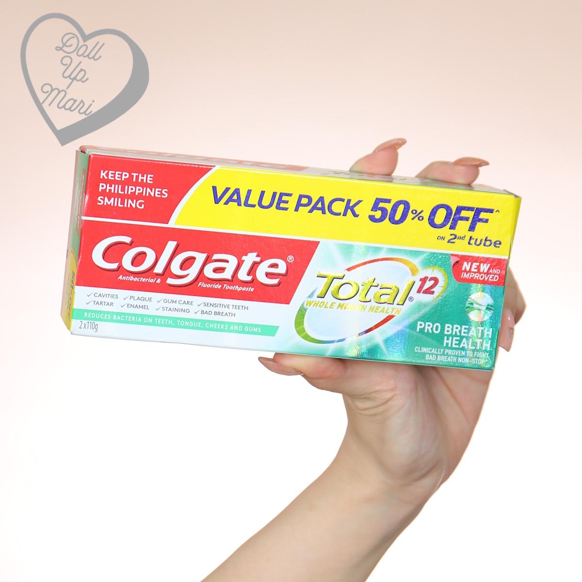 Colgate Total 12 Pro Breath Health Toothpaste