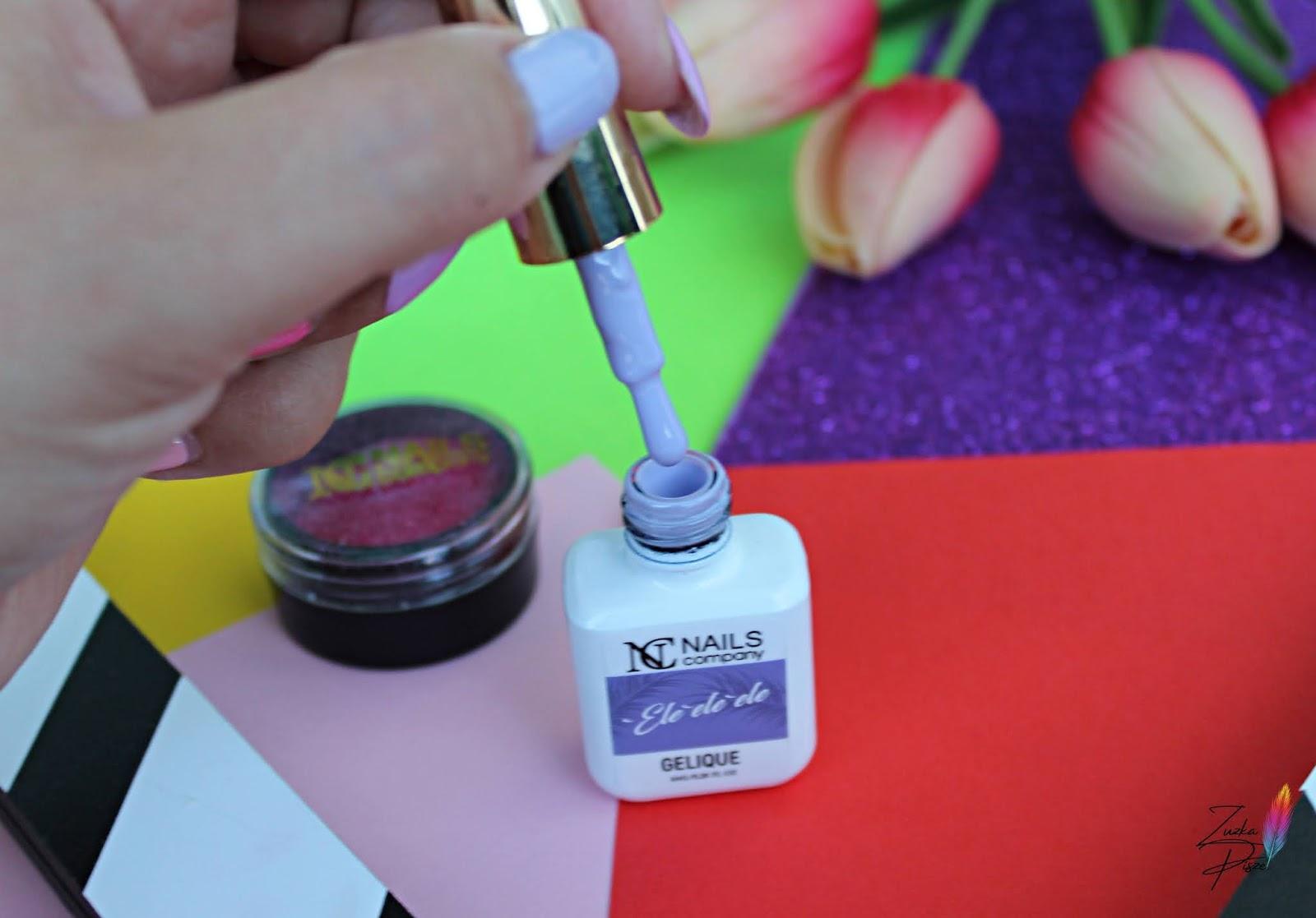 NC Nails Company Lakier hybrydowy 'Ele 'ele 'ele