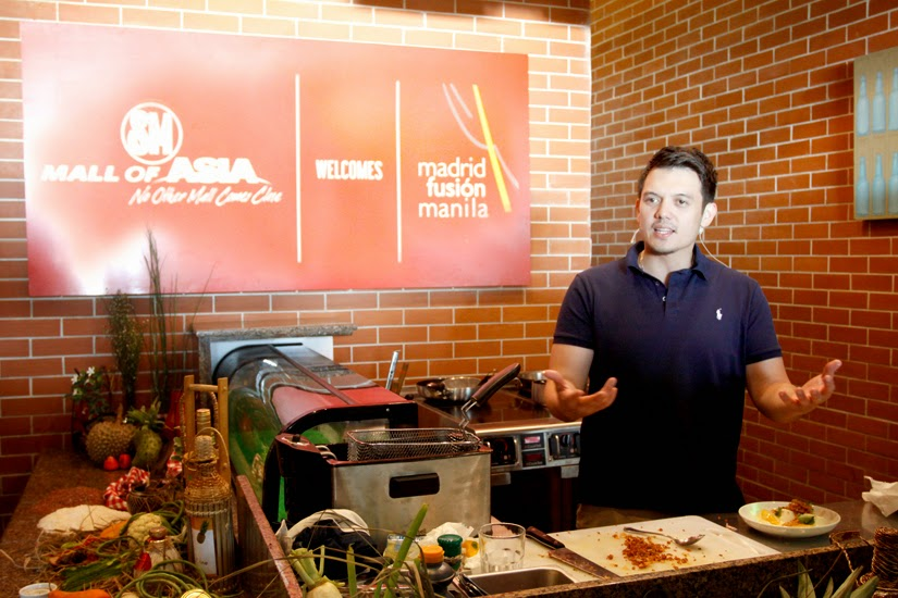 Celebrity Chef Rob Pengson for Madrid Fusion Manila 2015