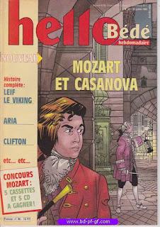 Hello-Bébé, numéro 30, 1991, Mozart et Casanova