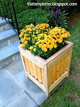 ' Letter Diy Outdoor Planter