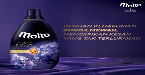 Molto eau de parfum purple elegant