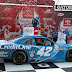 Kyle Larson earns surprise win in the ToyotaCare 250