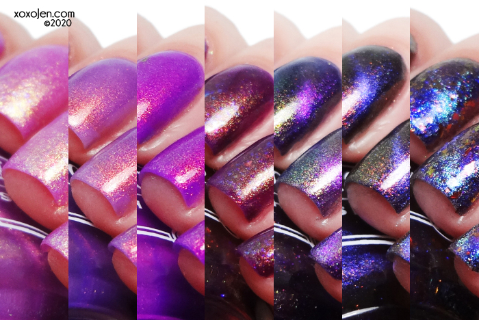 xoxoJen's swatch of Tonic February 2020 releases