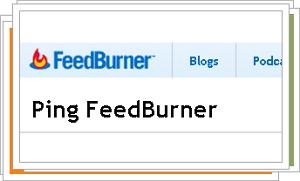 How to tell Google FeedBurner that you have a new post?