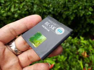Baterai Nokia BL-5K BL5K BL 5K Original 100% Nokia N85 N86 C7-00