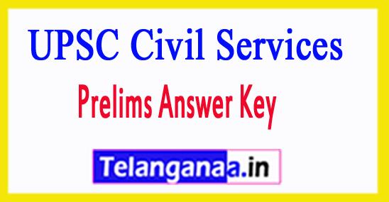 UPSC Civil Services Prelims Answer Key 2018