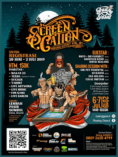 screencation ruang gesut flyer