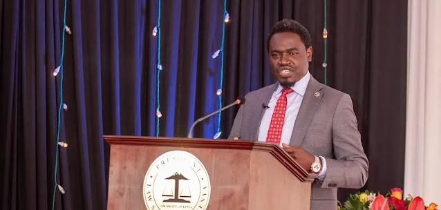 Law Society of Kenya(LSK)  President Nelson Havi photo